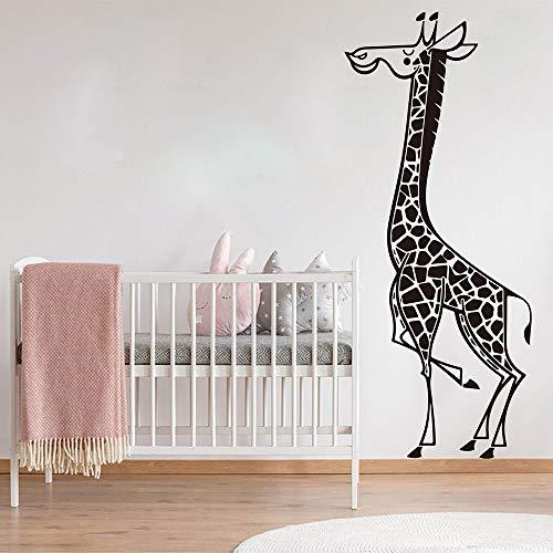 Hetingyue cartoon giraffe safari slaapkamer wandlamp jungle bos wandsticker vinyl