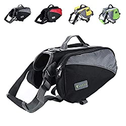 dog saddle bags Dog hiking backpack the best dog pack for hiking