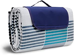 SKEIDO Picnic Blanket Waterproof Extra Large, Outdoor Blanket with Waterproof Backing for Family Concerts,Beach,Park
