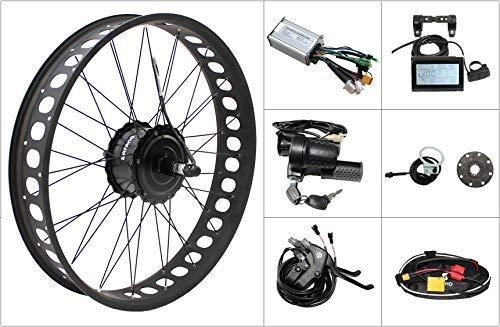 HalloMotor Free Duty BAFANG 48V 750W Freehub Fat Tire Cassette Rear Wheel 190mm ebike Conversion Kit