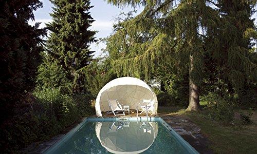 Garden-Igloo Sonnenschutz-Bezug für Pavillon / Gewächshaus / Garten Iglu FOUR SEASONS weiß