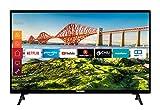 Telefunken XH24J501V 24 Zoll Fernseher (Smart TV inkl. Prime Video / Netflix / YouTube, HD ready, 12 Volt, Works with Alexa, Triple-Tuner) [Modelljahr 2021]