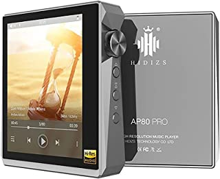 Hidizs AP80 PRO Portable Music Player HiFi Dual ESS9218P Bluetooth MP3 USB DAC Hi-Res Audio DSD64/128 Apt-X/LDAC FM Step C...