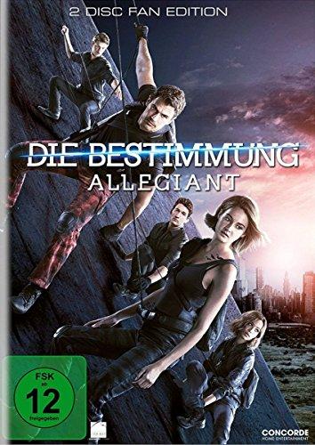 Die Bestimmung - Allegiant - 2DVDs [Edizione: Germania], modelli assortiti