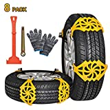 Best Snow Chains - Oziral 8Pcs Car Snow Chain Anti-Slip Snow Chains Review