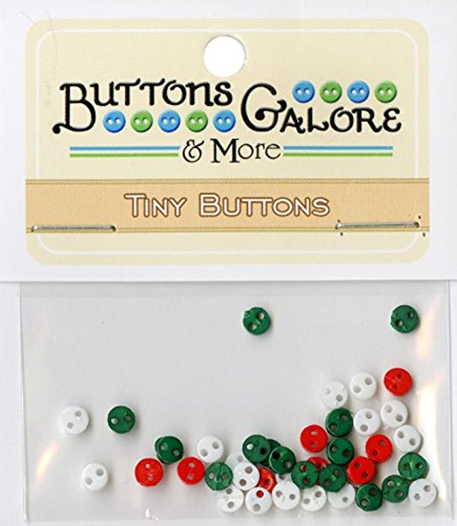 Buttons Galore Micros Winter Holiday Buttons, 1/8