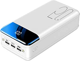 Power Bank Fast Charging 50000Mah Portable Charger, High Capacity 3 Outputs Phone Battery Pack with Flashlight & LED Displ...