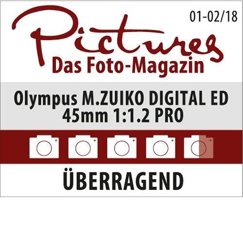 オリンパス『M.ZUIKODIGITALED45mmF1.2PRO』