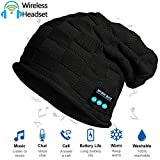 ADEAVE Wireless Bluetooth Beanie Hat with Headphones V4.2, Unique Christmas Tech Gifts for Teen Boys/Girls/Boyfriend/Him/Husband/Men/Dad/Women/Stocking Stuffers/Built-in HD Stereo Speakers & Mic