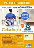 Paquete Ahorro Celador de Osakidetza. Ahorro de 52 € (incluye Temario; Test; Simulacros de examen y acceso Campus Oro)