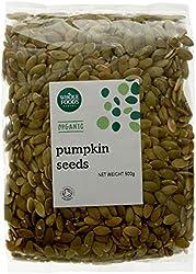 Whole Foods Market Organic Pumpkin Seeds, 500g