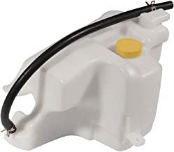 Coolant Reservoir Tank with Overflow Tube - Replaces 21710-8J000, NI3014105, 603-614 - Fits 2002-2006 Nissan Altima 2.5L and 3.5 V6, 2002-2008 Nissan Maxima 3.5L V6 - Coolant Recovery Bottle Tank