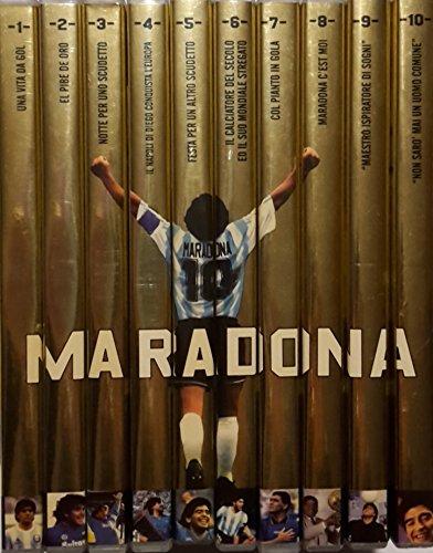 Maradona: 'Diego Armando Maradona - Non Sarò Mai Un Uomo Comune' (a cura di Gianni Minà) - Opera Completa (10 Dvd) - Edizione Editoriale (2006/2007)