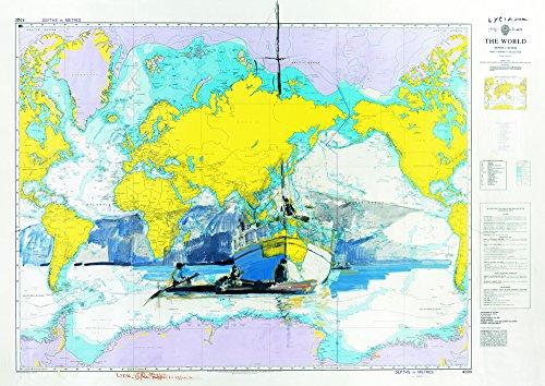 Il Frangente Art 04M nautische kaart Lycia in Papua en New Israël, Corrado Cohen