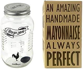 COOKUT Mayozen – Amazing maionese Fatta a Mano in 1 Minuto, Trasparente