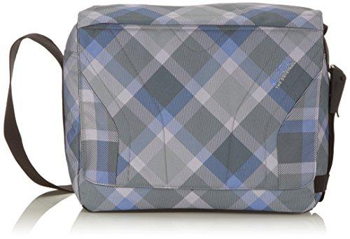 4YOU Umhängetasche Igrec Messengerbag Mehrfarbig (Checker Grey Violet) 17230064900