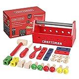 Craftsman 23pcs Take-Along Wooden Tool Kit,...