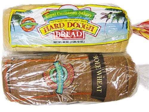 Jamaican Style Hard Dough Bread & Whole Wheat Hard Dough Bread (Large)