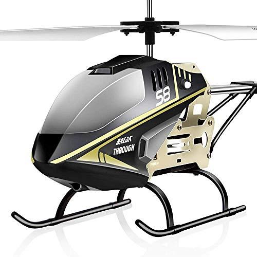 FYRMMD 3.5 Resistencia a la caída RC Metal al aire libre grande helicóptero al aire libre - Hobby Radio Avión Juguete para interior Ou(coche de control remoto)