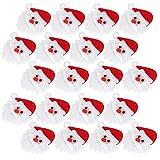 SALUTUYA Adornos navideños Simples, para Decorar árboles de Navidad de Fieltro DIY Navidad