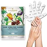LuxaDerme Deep Moisturizing Hand Hydration Gloves (1 Pack)