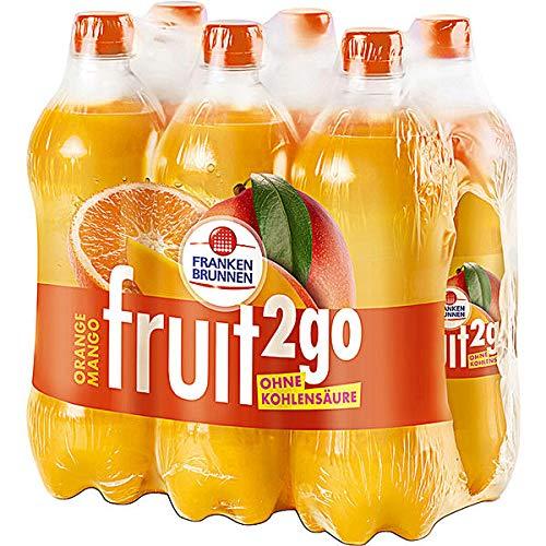Franken Brunnen fruit2go Orange Mango Erfrischungsgetränk 6 x 0,75l (inkl. 1,50 € Pfand)