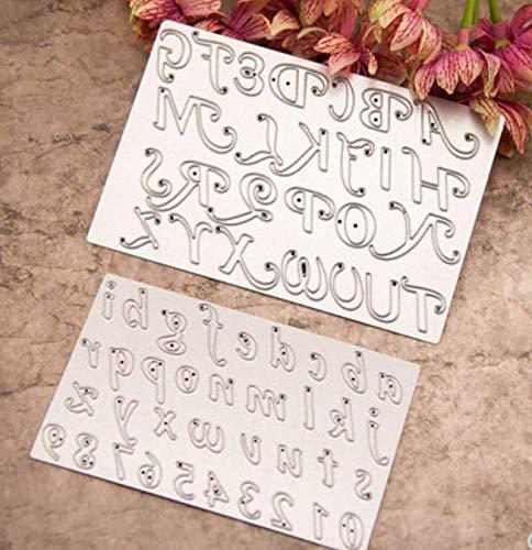 Basic praktische hoofdtas en kleine letter snijden sjabloon DIY mes model wenskaart album maken gereedschap