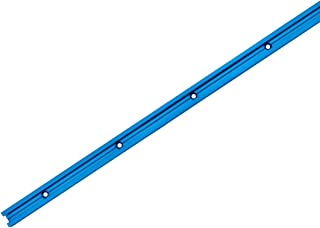 """POWERTEC 71066 Double-Cut Profile Universal T-Track with Predrilled Mounting Holes, 36"""""""