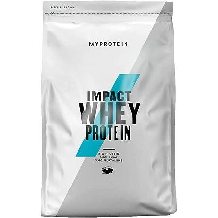 Myprotein マイプロテイン ホエイ・Impact ホエイプロテイン (チョコレートブラウニー, 1kg) 1Kg