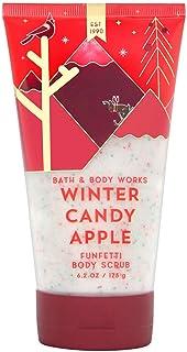 Bath and Body Works WINTER CANDY APPLE Funfetti Body Scrub 6.2 Ounce (2018 Edition)