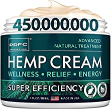 ?ain Relief Hemp Cream - Made in USA - Natural Hemp Extract Cream for Back & Muscle ?ain Relief - Efficient Inflammation Cream & Carpal Tunnel Relief - Good for Skin Health