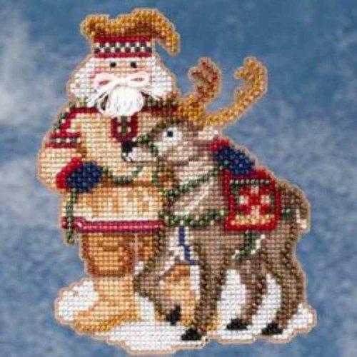 Mill Hill Lapland Santa - Cross Stitch Kit