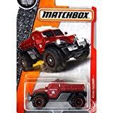 matchbox dark red road raider metal
