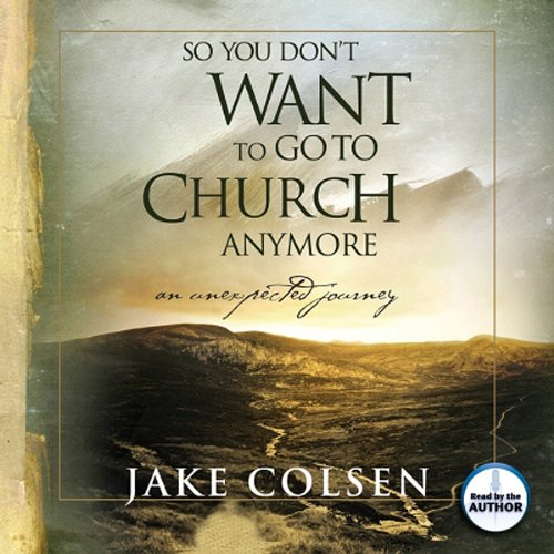 So You Don't Want to Go to Church Anymore audiobook cover art