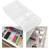 Hausfelder ORDNUNGSLIEBE Schubladen Organizer (4-teiliges Set) Ordnungssystem zur Aufbewahrung für...