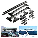 ANTS PART Roof Rack Cross Bars & Side Rails Package for 2009-2017 Chevy Chevrolet Traverse OE Style Aluminum