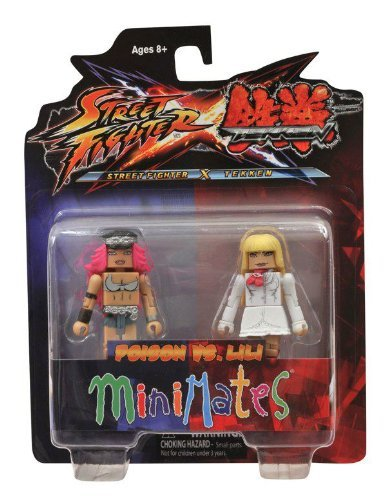 Minimates: Street Fighter X Tekken Series 1 Poison vs Lili