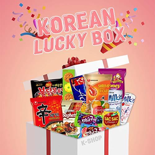 Korean Lucky Box XXL - 22 verschiedene...