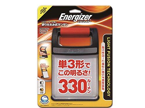 エナジャイザー LED ランタン 折りたたみ式 フュージョン (明るさ最大330ルーメン/点灯時間最大100時間) FF...