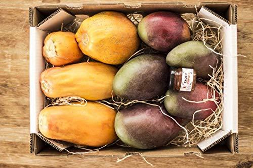 Caja de Papayas y Mangos-directamente de nuestra finca a tu casa