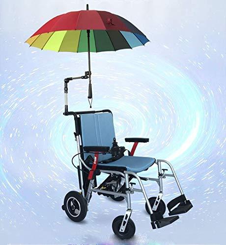 Ältere Menschen mit Behinderung Leichtgewichtiger Rollstuhl, Elektrorollstuhl in 1 Sekunde Auf- / Zuklappen Leichtestes, Kompaktestes Elektrorollstuhlgerät mit Elektroantrieb Oder Manuellem Rollstuhl