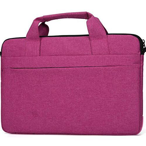 15,6 Zoll Laptop Aktentasche Tragetasche mit Handgriff kompatibel mit Acer Aspire 5 / Acer Aspire E 15 / Acer Predator Helios 300 / MSI LG ASUS HP Laptop Tasche Rot rot 12.3-13.3 Inch