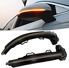 AQIMY LED Side Mirror Dynamic Sequential Blink Turn Signal Light for Audi A4 B9 S4 RS4 A5 S5 RS5 2017 2018