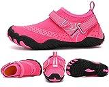 ZKPZYQ Escarpines de baño para hombre y mujer, de secado rápido, deportivos, unisex, para natación, playa, surf, conducir, canotaje, 35, color rosa