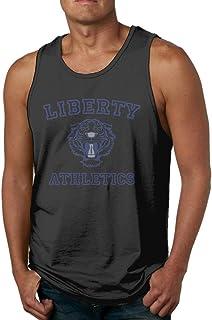 Mens 13 Reasons Why - Liberty Athletics Classic Gym Black Shirt Tank Tops