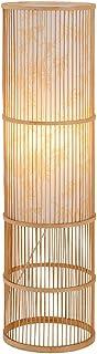 lampadaire Nouveau Chinese Bamboo Art Salon Chambre Chevet Veilleuse 28 * 28 * 100cm.