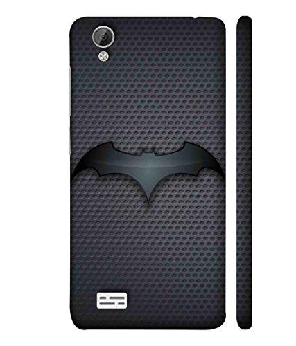 Sibu Print A DC Comic Hero Bat Man Cartoon Character New Fully Dark Combination Designer Printed Polycarbonate Matte Finish Hard Back Case Cover for Vivo Y31L
