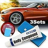 KRY 2020 Nuevo removedor Innovador de rasguños de Coche Mejorado, Car Styling Fix It Car Body Grinding Compound Paste Set, Repara fácilmente arañazos de Pintura, Manchas de Agua, Swirl, Blemish (