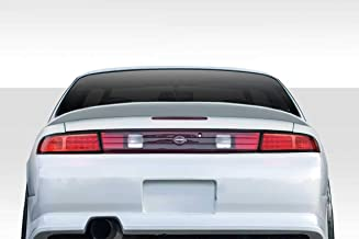 Extreme Dimensions Duraflex Replacement for 1995-1998 Nissan 240SX S14 Supercool Wing Trunk Lid Spoiler - 1 Piece