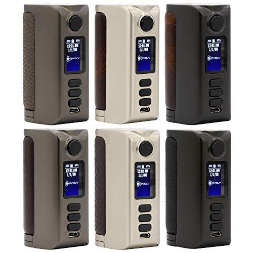 Dovpo Riva DNA 250C Box Mod 200 W, e-Zigarette - Akkuträger, black/vintage brown